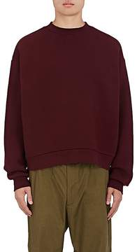 Alexander Wang Men's Oversized Cotton-Blend Fleece Sweatshirt