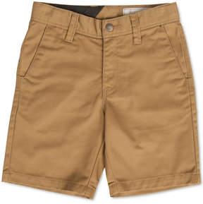 Volcom Frickin Chino Shorts, Big Boys