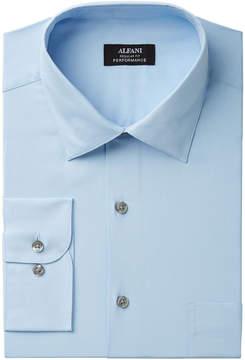 Alfani Men's Big & Tall Classic/Regular Fit Dress Shirt, Created for Macy's