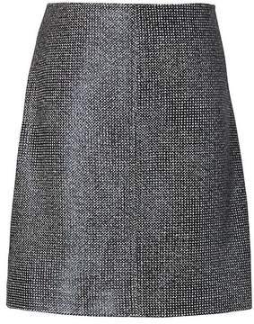 Banana Republic Coated Tweed Mini Skirt