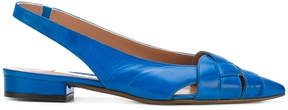 L'Autre Chose pointed toe slingback ballerinas