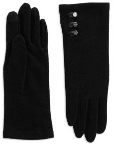 Lauren Ralph Lauren Three-Button Touch Gloves