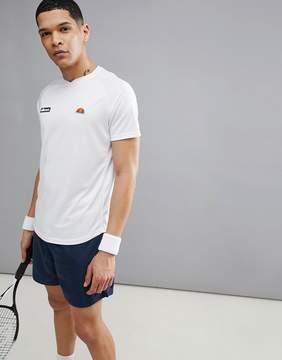 Ellesse Tennis Raglan T-Shirt In White