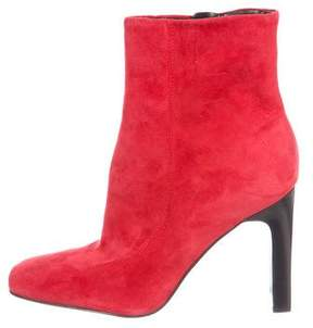 Marc Fisher Suede Ankle Boots