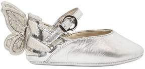 Sophia Webster Chiara Baby Metallic Leather Shoes