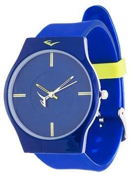Everlast Soft Touch Rubber Strap Watch - Blue