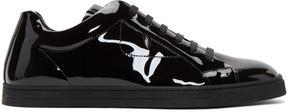 Fendi Black Patent Sneakers