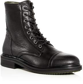 John Varvatos Men's Cooper Officer Leather Lace Up Boots