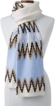 Lands' End Lands'end Women's Winter Fair Isle Scarf