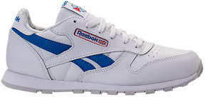 Reebok Boys' Grade Schoool Classic Leather SO Casual Shoes