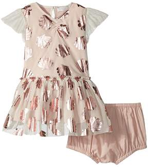 Stella McCartney Bellie Seashell Print Tulle Dress Girl's Dress