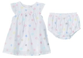 Absorba Girls' 2pc Dress & Bloomer Set.
