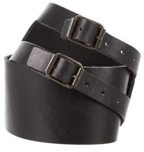 Elizabeth and James Leather Waist Belt