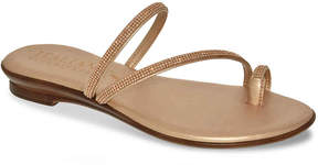 Italian Shoemakers Women's Jewel Flat Sandal