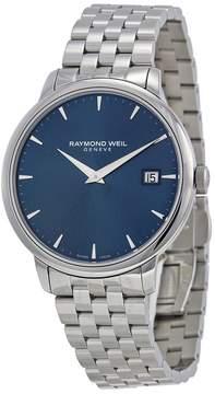 Raymond Weil Toccata Blue Dial Steel Bracelet Men's Watch