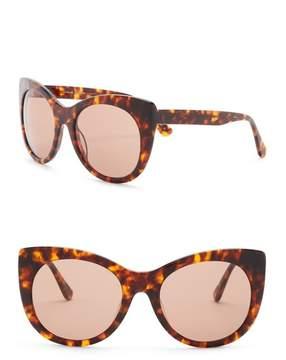 Joe's Jeans Modified Cat Eye 56mm Sunglasses