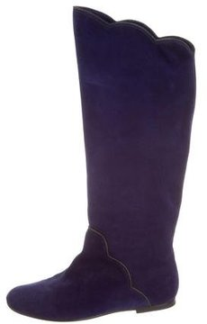 Marc Jacobs Suede Riding Boots