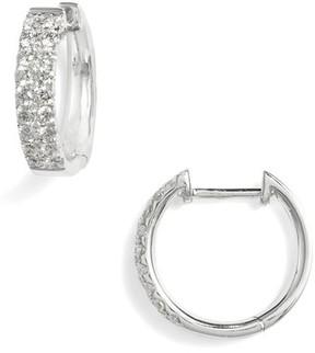 Bony Levy Women's Kiera Small Diamond Hoop Earrings (Nordstrom Exclusive)