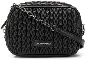 Emporio Armani quilted drop shoulder bag