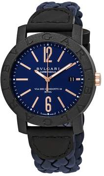 Bvlgari Blue Dial Automatic Men's Watch