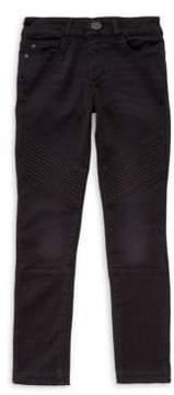 Chloé DL Premium Denim Girl's Skinny Moto Jeans