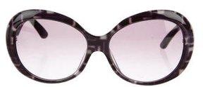 Emilio Pucci Oversize Printed Sunglasses w/ Tags