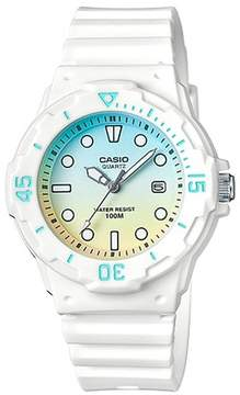 Casio Women's Analog Watch - White