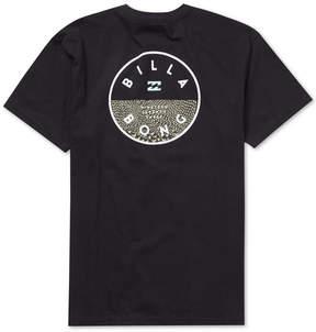 Billabong Men's Rotor Fill Graphic T-Shirt