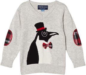 Andy & Evan Christmas Penguin Sweater