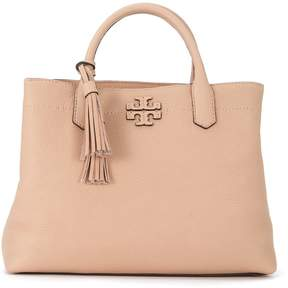 Tory Burch Mcgraw Sand Lather Handbag - BEIGE - STYLE