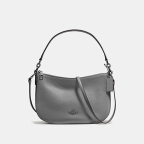 COACH Coach Chelsea Crossbody - DARK GUNMETAL/HEATHER GREY - STYLE