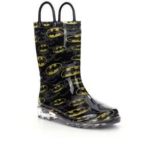 Western Chief Batman Signal Night Light Boys Rain Boots