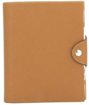 Hermes Brown Agenda Ulysees PM (Pre Owned) - ONE COLOR - STYLE