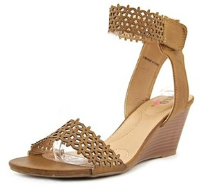 XOXO Sadler Women Open Toe Synthetic Wedge Heel.