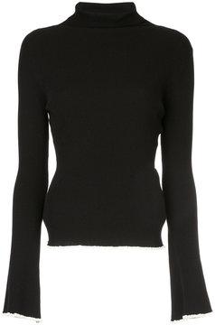 ESTNATION slim-fit roll neck sweater