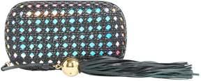 Corto Moltedo Black Leather Clutch Bag