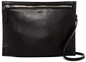 Shinola Slim Leather Crossbody Bag