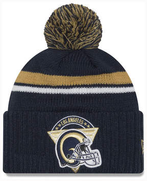 New Era Los Angeles Rams Diamond Stacker Knit Hat