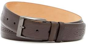 Mezlan Perso Brogued Leather Belt