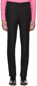 Calvin Klein Black Uniform Side Stripe Trousers
