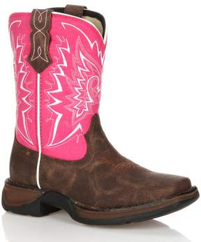 Durango Lil Let Love Fly Girls' 8-in. Western Boots