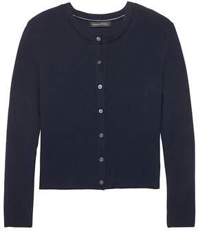 Banana Republic Classic Cropped Cardigan Sweater