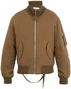 Helmut Lang High-neck 2003 bomber jacket