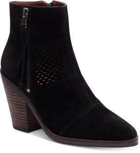 Lucky Brand Women's Ramses Block-Heel Booties Women's Shoes