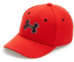 Under Armour Boy's 'Blitzing 2.0' Stretch Fit Baseball Cap