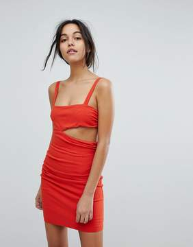 Bec & Bridge Rouge Cut Out Mini Dress