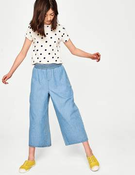 Boden Chambray Culottes