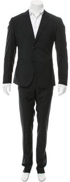 Moschino Two-Button Wool-Blend Suit
