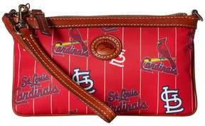 Dooney & Bourke MLB Large Slim Wristlet Shoulder Handbags - CARDINALS - STYLE