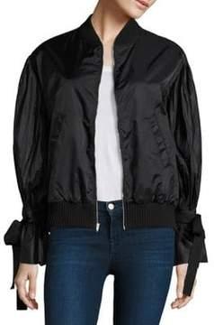 Clu Bomber Pleated Jacket